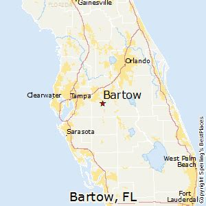 bartow florida map best places to live in bartow florida