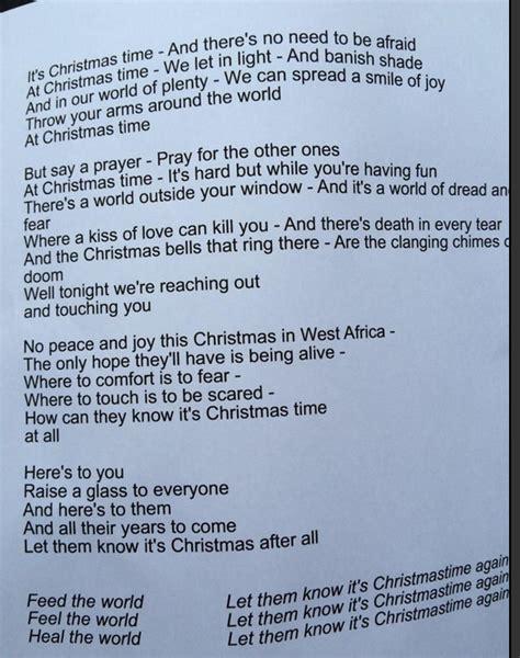 special k testo canzone band aid ebola 2014 natale nomi cantanti e testo