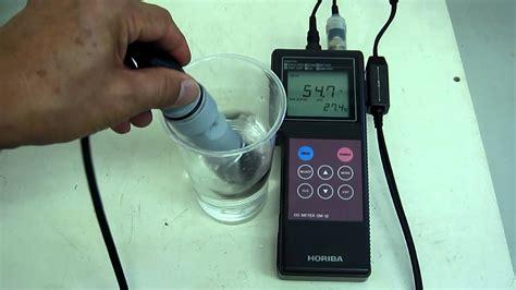 Dissolved Oxygen Meter Horiba horiba om 12 dissolved oxygen meter 動作確認