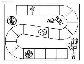 land page template printable candyland coloring pages for cool2bkids