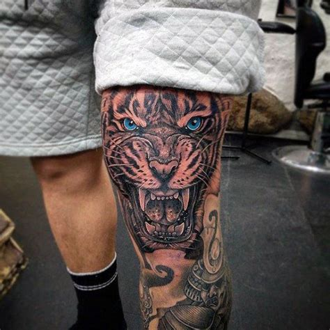 mens leg tattoos 22 best knee tattoos images on knee