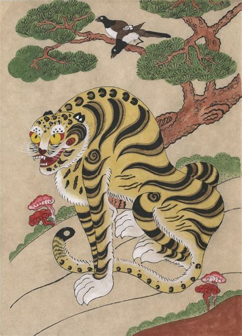 korean tiger tattoo daily korean stuff korean tiger folk 1 tiger and