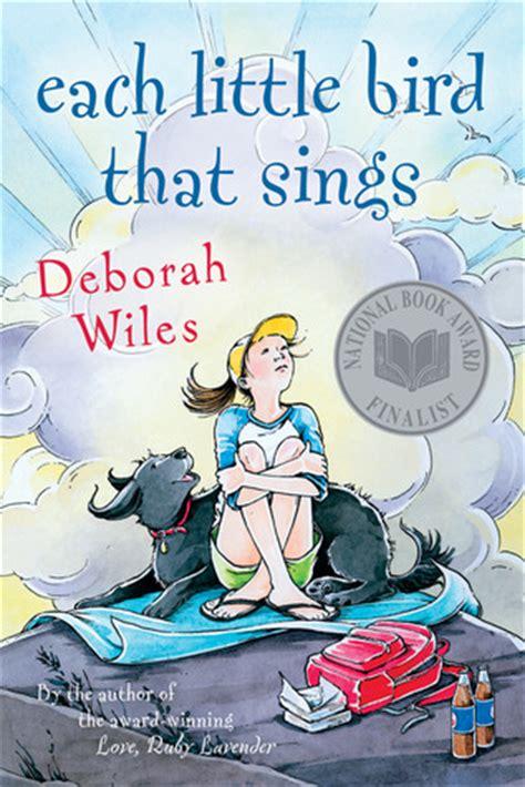 each little bird that sings by deborah wiles reviews