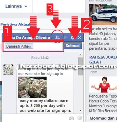 cara membuat facebook jadi rame cara chatting online rame rame di facebook
