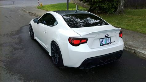 White Subaru Brz Custom Cars Subaru Scion