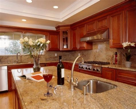 Granite Kitchen Countertop Colors by Granite Countertops Colors Pics