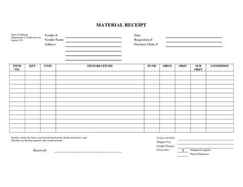 printable hand receipt 10 best images of property hand receipt form da form
