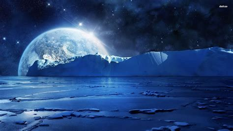 wallpapers frozen planet earth from the icy planet fantasy planets pinterest