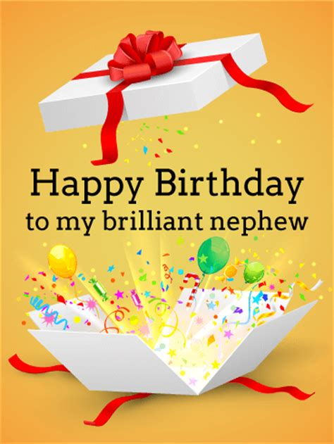 Free Happy Birthday Nephew Cards Have The Happiest Birthday Birthday Balloon Card For