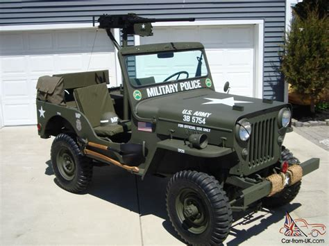 jeep vietnam willys 1960 cj3b army m606 style vietnam military type