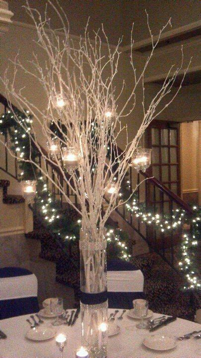sparkly branches fairy lights diy  years eve party