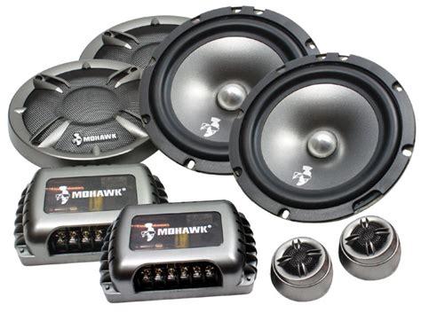 Speaker Mohawk mohawk mc 6 2 6 5 2 way component speakers