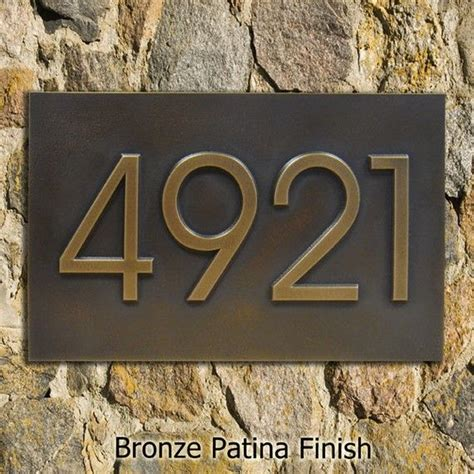 house numbers modern home address advantage numbers 4 house numbers