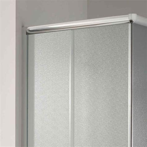 cabine paroi 90x70 h185 cm verre opaque angulaire