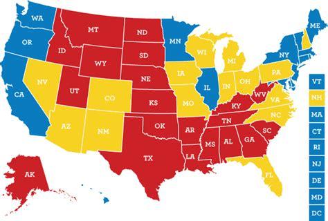 us map democratic states det store amerikanske skakspil din guide til det