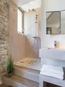mediterranes badezimmer mediterrane badezimmer mit offener dusche design ideen