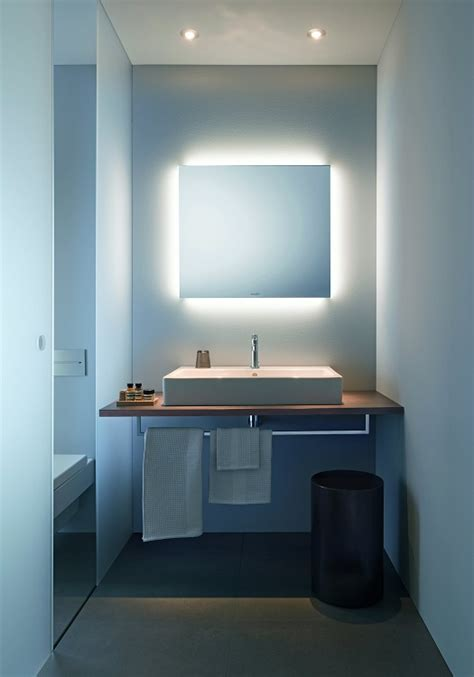 duravit bathroom mirrors product spotlight duravit designs a modular illuminated