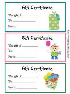 Free Printable Report Card Template gift certificates