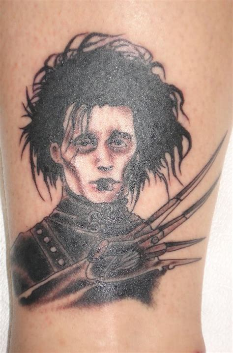 edward scissorhands tattoo my edward scissorhands 187 sinister space