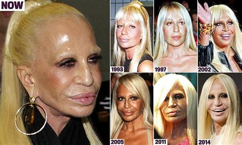 how donatella versace transformed herself into a human