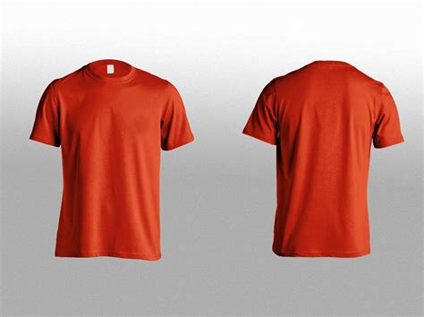 mock up shirt templates t shirt front back mockup free