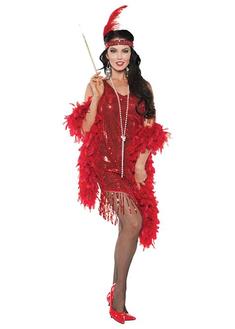 swing costumes swingin red flapper women costume 1920s costumes