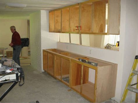 Building Frameless Kitchen Cabinets Danny Proulx by How To Build Frameless Wall Cabinets Memsaheb Net