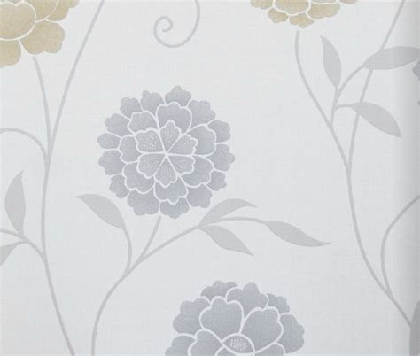modern floral wallpaper modern floral print wallpaper grey contemporary wallpaper