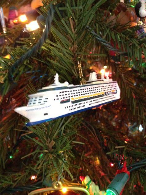 cruise ship christmas ornament princess decor