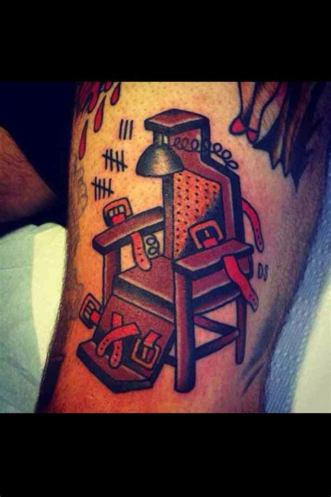 Electric Chair Tattoos by Electric Chair Ideas