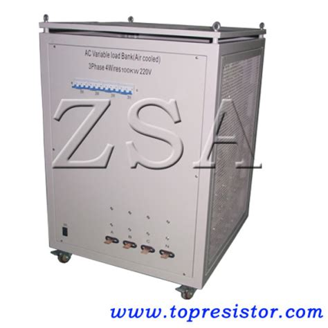 variable load resistors ac 220v variable resistor box with the load step 1kw load bank manufacturer from china shenzhen
