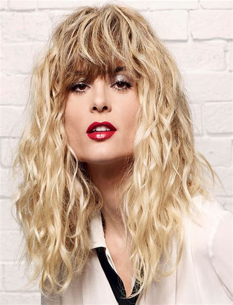 perms for long hair with bangs 32 excellent perm hairstyles for short medium long hair