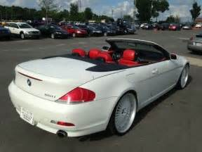 sell used 2007 bmw 650i convertible white with