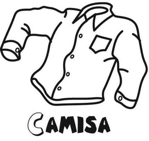 imagenes para colorear ropa camisa para colorear con ni 241 os dibujos de ropa para