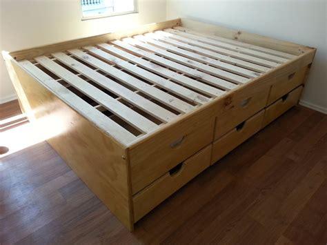 somier con cama abajo cama de 2 plazas con 12 cajones 362 000 en mercado libre