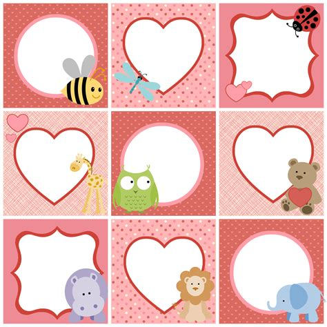 printable children s gift tags valentine s day cute printable tags for kids parent avenue