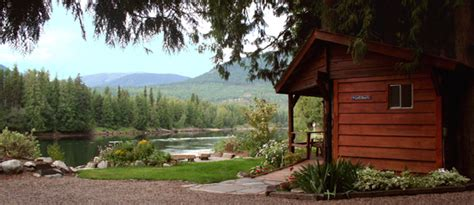 Last Resort Cabins by Waterfront Cabin Rental Clark Fork Idaho 83811 The Last