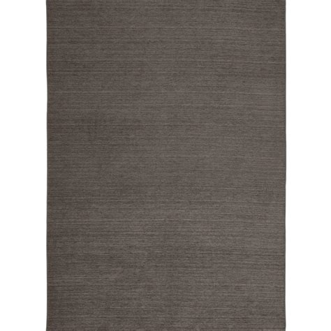 Pet Stain Resistant Area Rugs by Ruggable Washable Solid Rich Grey 5 Ft X 7 Ft Stain