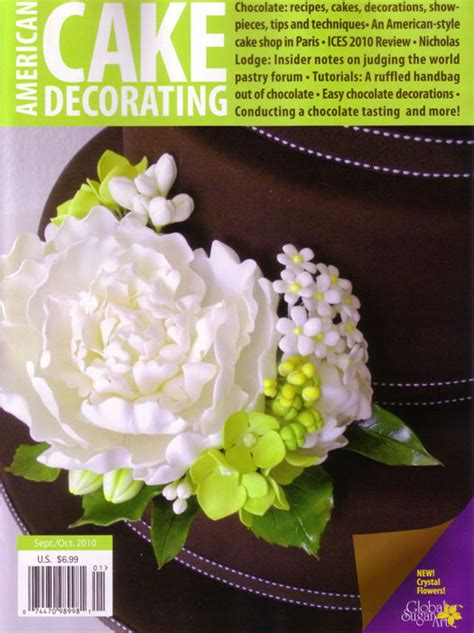 American Cake Decorating Magazine by Cakejournals August Favourites Cakejournal