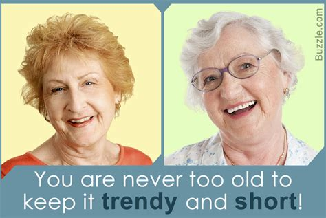 Very Short Hairstyles for Older Women to Keep You Young at Heart