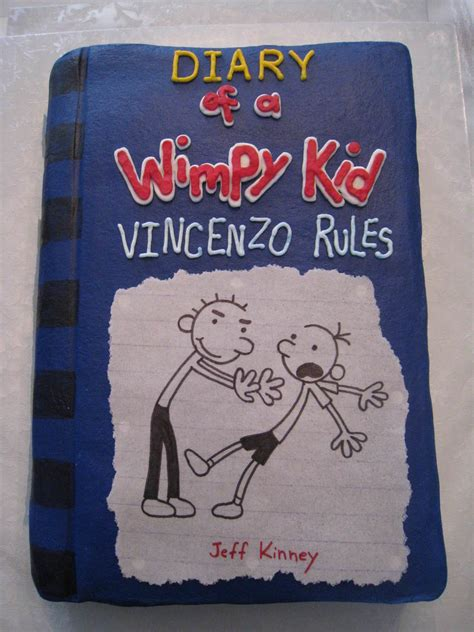 the diary of a diary of a wimpy kid rodrick rules cake cakecentral com