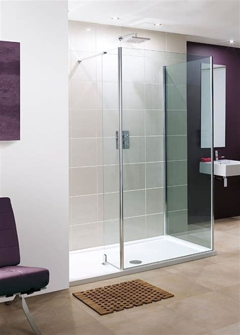 Lakes 1400 x 800mm 2 Panel Walk In Shower Enclosure with