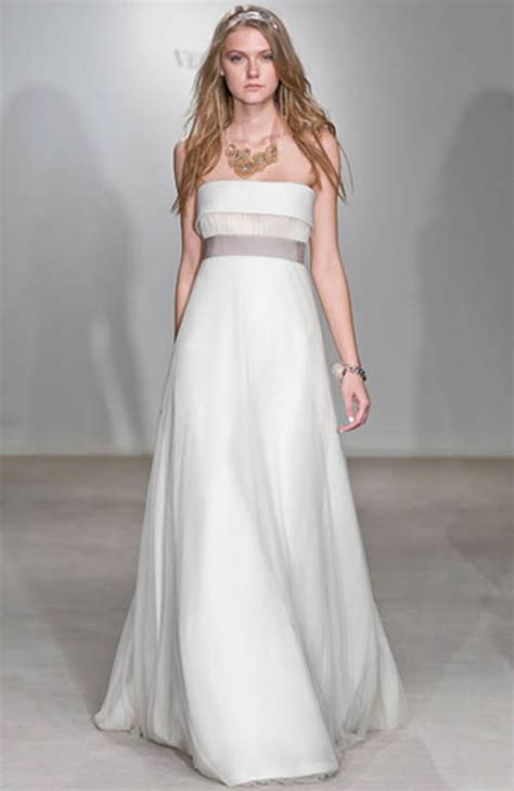 vera wang wedding gown the best choice for simple gown