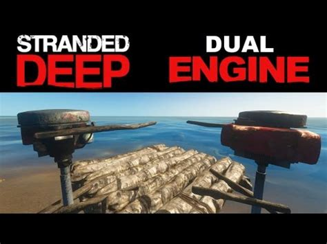 how to build a boat motor in stranded deep steam community gutzufuss videos