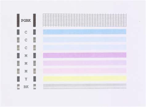 90 color test print document printer color test