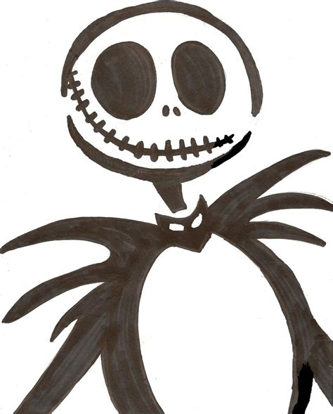 nightmare before pumpkin template skellington stencil by corpsegirl001 on deviantart