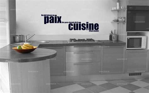 citation sur la cuisine sticker citation on doit laisser en paix les gens
