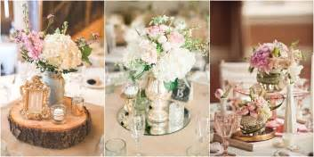 Vintage Wedding Table Decorations by 27 Vintage Wedding Centerpieces That Take Your Wedding To