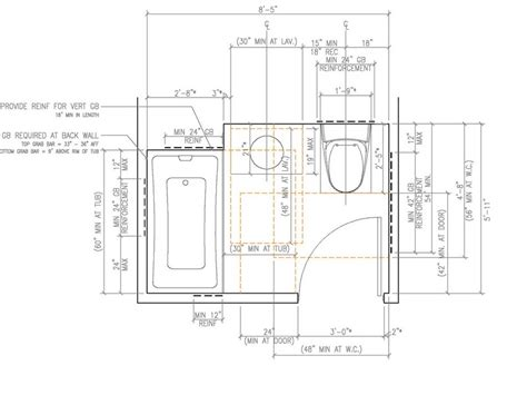 ada bathroom layout with shower zef jam