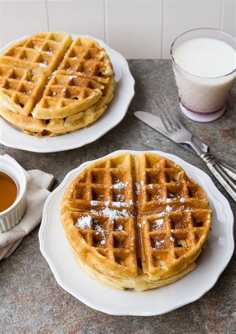 best 2 ingredient easy waffle recipe no waffle batter breads buns